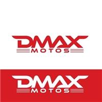Dmax Motos/Comércio varejista motocicletas de alta cilindrada, Logo e Cartao de Visita, Automotivo