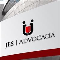 JES - ADVOCACIA, Logo, Advocacia e Direito