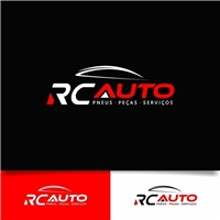 RC AUTO, Logo e Cartao de Visita, Automotivo