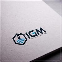 IGM , Logo, Segurança & Vigilância