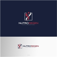 Nutroregen , Logo e Cartao de Visita, Saúde & Nutrição