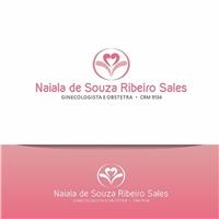 Naiala de Souza Ribeiro Sales CRM 9134 ginecologista e obstetra , Logo, Saúde & Nutrição