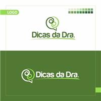 Dicas da Dra., Logo e Cartao de Visita, Saúde & Nutrição