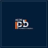 AÇOS P&B REPRESENTAÇÕES, Logo, Metal & Energia