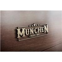 Munchen, Logo e Cartao de Visita, Alimentos & Bebidas