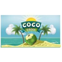 Coco d` Água, Logo e Cartao de Visita, Alimentos & Bebidas