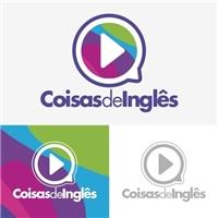 Coisas de Inglês, Logo e Cartao de Visita, Educação & Cursos