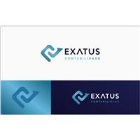 Exatus Contabilidade Online, Logo e Cartao de Visita, Contabilidade & Finanças