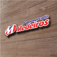 Supermercado Medeiros, Logo e Cartao de Visita, Outros
