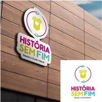 História sem fim    - brechó e outlet infantil-, Logo, Crianças & Infantil