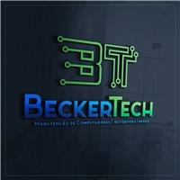 BeckerTech, Logo e Cartao de Visita, Computador & Internet
