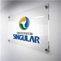 Instituto Singular, Logo e Cartao de Visita, Educação & Cursos