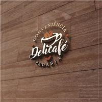 Delicafé, Logo e Cartao de Visita, Alimentos & Bebidas