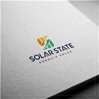 SOLAR STATE, Logo, Metal & Energia