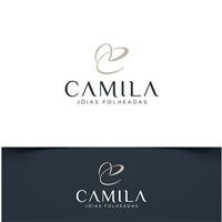 Camila Ferezin Jóias Folheadas, Logo, Roupas, Jóias & acessórios