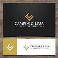 Campos e Lima sociedade de Advogados, Logo e Cartao de Visita, Advocacia e Direito