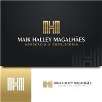 MAIK HALLEY MAGALHÃES, Logo, Advocacia e Direito