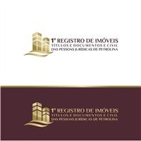 1º Registro de Imóveis, Títulos e Documentos e Civil das Pessoas Juríd, Logo e Cartao de Visita, Advocacia e Direito