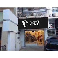 Dress, Logo e Cartao de Visita, Roupas, Jóias & acessórios