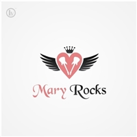 MARY ROCKS, Logo e Cartao de Visita, Roupas, Jóias & acessórios