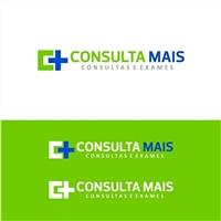 Consulta Mais - Consultas e Exames (esta ultima parte embaixo), Logo e Cartao de Visita, Saúde & Nutrição