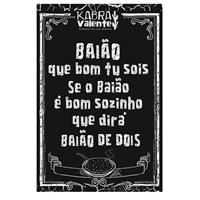 Kabra Valente - Nordestino Sim Senhor (slogan), Cartaz, Roupas, Jóias & acessórios
