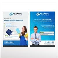 Exatus Contabilidade Online, Cartao de Visita, Contabilidade & Finanças
