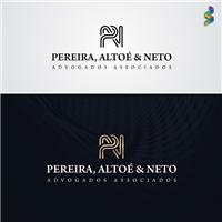 Pereira, Altoé e Neto Advogados Associados, Logo e Cartao de Visita, Advocacia e Direito