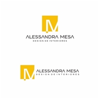 Alessandra Mesa, Logo e Cartao de Visita, Arquitetura