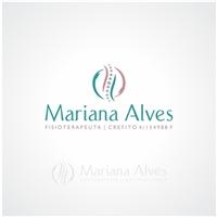 Mariana Alves Fisioterapeuta , Logo, Saúde & Nutrição