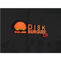 Disk Burguer CG, Logo e Cartao de Visita, Alimentos & Bebidas