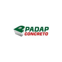 PADAP CONCRETO, Logo, Construção & Engenharia