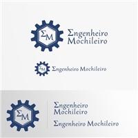 Engenheiro Mochileiro, Logo e Cartao de Visita, Viagens & Lazer
