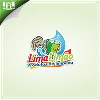 LimaLimão produtos de limpeza, Logo, Limpeza & Serviço para o lar