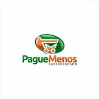 SUPERMERCADO PAGUE MENOS, Logo e Cartao de Visita, Outros