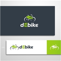 dEbike, Logo e Cartao de Visita, Tecnologia & Ciencias