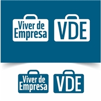 Viver de Empresa, Logo e Cartao de Visita, Contabilidade & Finanças