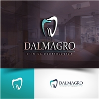 Dalmagro & Associados Clínica Odontológica, Logo, Saúde & Nutrição