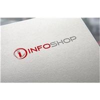 InfoShop (infoshop.com.br), Papelaria (6 itens), Computador & Internet