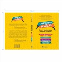 """Capa para o livro """"PINCELADAS DE INOVAÇÃO"""", Layout para Website, Outros"""