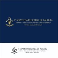 2 serventia registal de Paulista, Logo e Cartao de Visita, Advocacia e Direito
