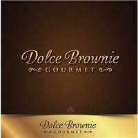 Dolce Brownie gourmet, Logo, Alimentos & Bebidas