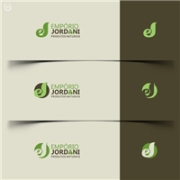 Empório Jordani, Logo e Cartao de Visita, Alimentos & Bebidas