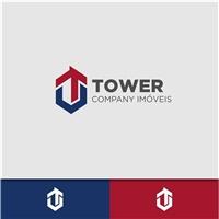 Tower Company Imóveis, Logo e Cartao de Visita, Imóveis
