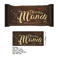 Chocolate Mandi, Logo e Cartao de Visita, Alimentos & Bebidas