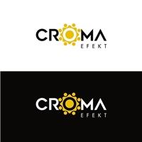 croma efekt, Logo, Artes, Música & Entretenimento