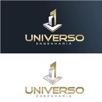 UNIVERSO, Logo e Cartao de Visita, Construção & Engenharia