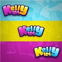 kelly kids, Logo e Cartao de Visita, Crianças & Infantil