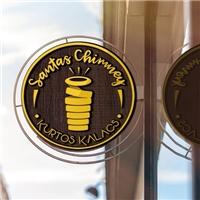 Santa's Chimney , Logo e Cartao de Visita, Alimentos & Bebidas