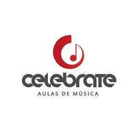 CELEBRATE AULAS DE MÚSICA, Logo, Educação & Cursos